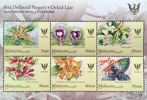 [Definitives - Wild Orchids, Typ ]