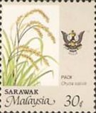[Agriculture Stamps of 1986 - State Crest Changed, Small Shield has a Black and Red Diagonal Stripe, Typ CR1]