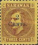 [Issues of 1871 & 1875 Surcharged, Typ M]