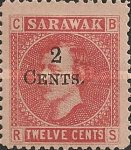 [Issues of 1871 & 1875 Surcharged, Typ M1]