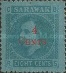 [Issues of 1871 & 1875 Surcharged, Typ M3]