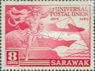[The 75th Anniversary of Universal Postal Union, Typ Z]