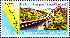 [Opening of Taif-Abha-Jizan Road, type WP]