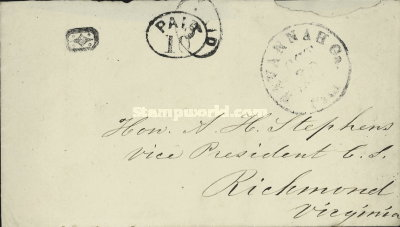 [Handstamped Envelope, type B]