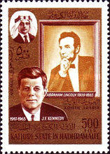 [Airmail - Abraham Lincoln and John F. Kennedy, type ]