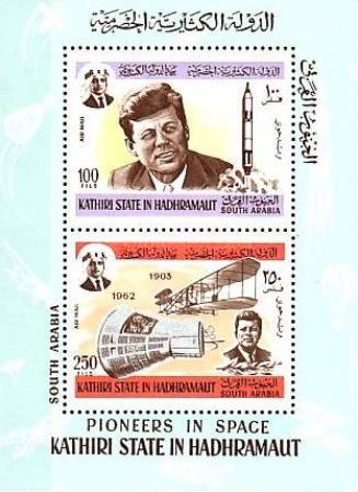 [Airmail - John F. Kennedy and the Space Exploration, type ]