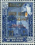 "[""SOUTH ARABIA"" Stamps  of 1966 Overprinted ""WORLD PEACE"" and Politicians Names, type T5]"