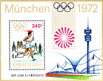 [Olympic Games - Munich, Germany, Typ ]