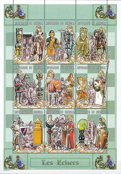 [History of the Crusades - Chess Pieces, Typ ]
