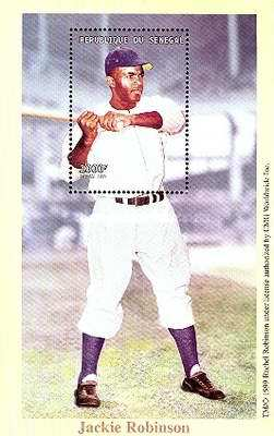 [The 70th Anniversary of the Birth of Jackie Robinson, 1929-1972, Typ ]