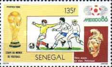 [Football World Cup - Mexico 1986, Typ AAB]
