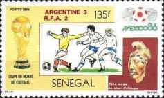 [Football World Cup - Mexico 1986 - Winners Argentina, Typ AAE]