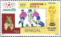 [Football World Cup - Mexico 1986 - Winners Argentina, Typ AAF]