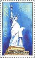 [The 100th Anniversary of Statue of Liberty, New York, Typ AAR]