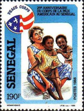 [The 25th Anniversary of American Peace Corps in Senegal, Typ ADQ]