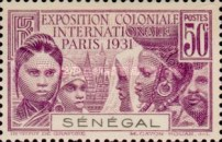 [International Colonial Exhibition, Paris, type AH]
