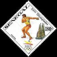 [Olympic Games - Barcelona 1992, Spain, type AHA]