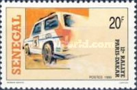 [The 12th Paris-Dakar Rally, type AHF]