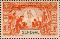 [International Colonial Exhibition, Paris, type AI]