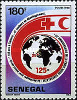 [The 125th Anniversary of International Red Cross, type AIS]