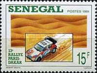 [The 13th Paris-Dakar Rally, type AIT]