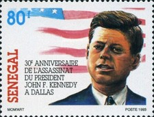 [The 30th Anniversary of the Death of John F. Kennedy, 1917-1963, Typ AOZ]