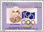 [The 100th Anniversary of International Olympic Committee, Typ ARN]