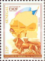 [The 100th Anniversary of Formation of French Governate-General of French West Africa, Typ ASF]