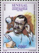 [The 100th Anniversary of the Death of Louis Pasteur, 1822-1895, Typ ASK]