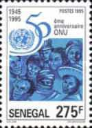 [The 50th Anniversary of the United Nations, Typ AST]