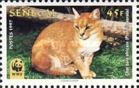 [World Nature Protection - African Golden Cat, Typ AWZ]