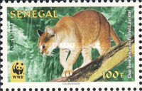 [World Nature Protection - African Golden Cat, Typ AXA]