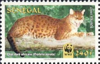 [World Nature Protection - African Golden Cat, Typ AXB]