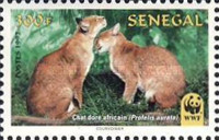 [World Nature Protection - African Golden Cat, Typ AXC]