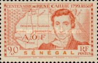 [The 100th Anniversary of the Death of René Caillié, 1799-1838, Typ AY]