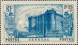 [The 150th Anniversary of French Revolution, Typ BA4]