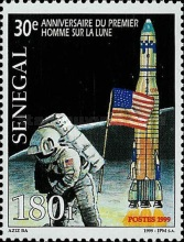 [The 30th Anniversary of First Manned Moon Landing, Typ BHW]