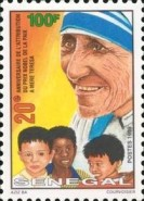 [The 20th Anniversary of Award of Nobel Peace Prize to Mother Teresa, Typ BHZ]