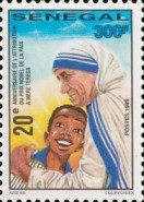 [The 20th Anniversary of Award of Nobel Peace Prize to Mother Teresa, Typ BIB]