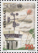 [The 50th Anniversary of World Meteorological Organization, Typ BMS]