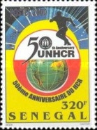 [The 50th Anniversary of United Nations High Commissioner for Refugees, Typ BNA]
