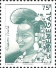 [Senegalese Elegance - The Peulh Woman, type BNS11]