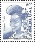 [Senegalese Elegance - The Peulh Woman, type BNS12]