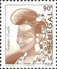 [Senegalese Elegance - The Peulh Woman, type BNS13]