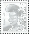 [Senegalese Elegance - The Peulh Woman, type BNS16]