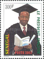 [The 2nd Anniversary of the Death of Leopold Sedar Senghor, 1906-2001, type BPS]
