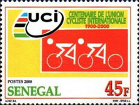 [The 100th Anniversary of International Cycling Union or UCI, type BQI]