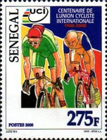 [The 100th Anniversary of International Cycling Union or UCI, type BQJ]