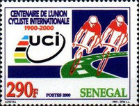 [The 100th Anniversary of International Cycling Union or UCI, type BQK]