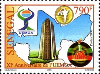 [The 11th Anniversary of UEMOA, type BTZ]